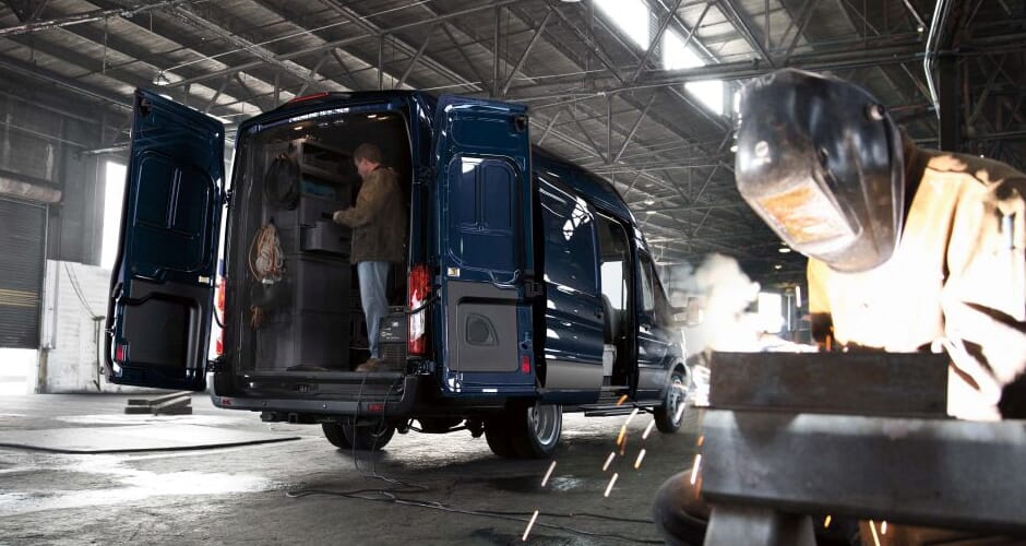 Ford Transit Electrician Van Houston TX